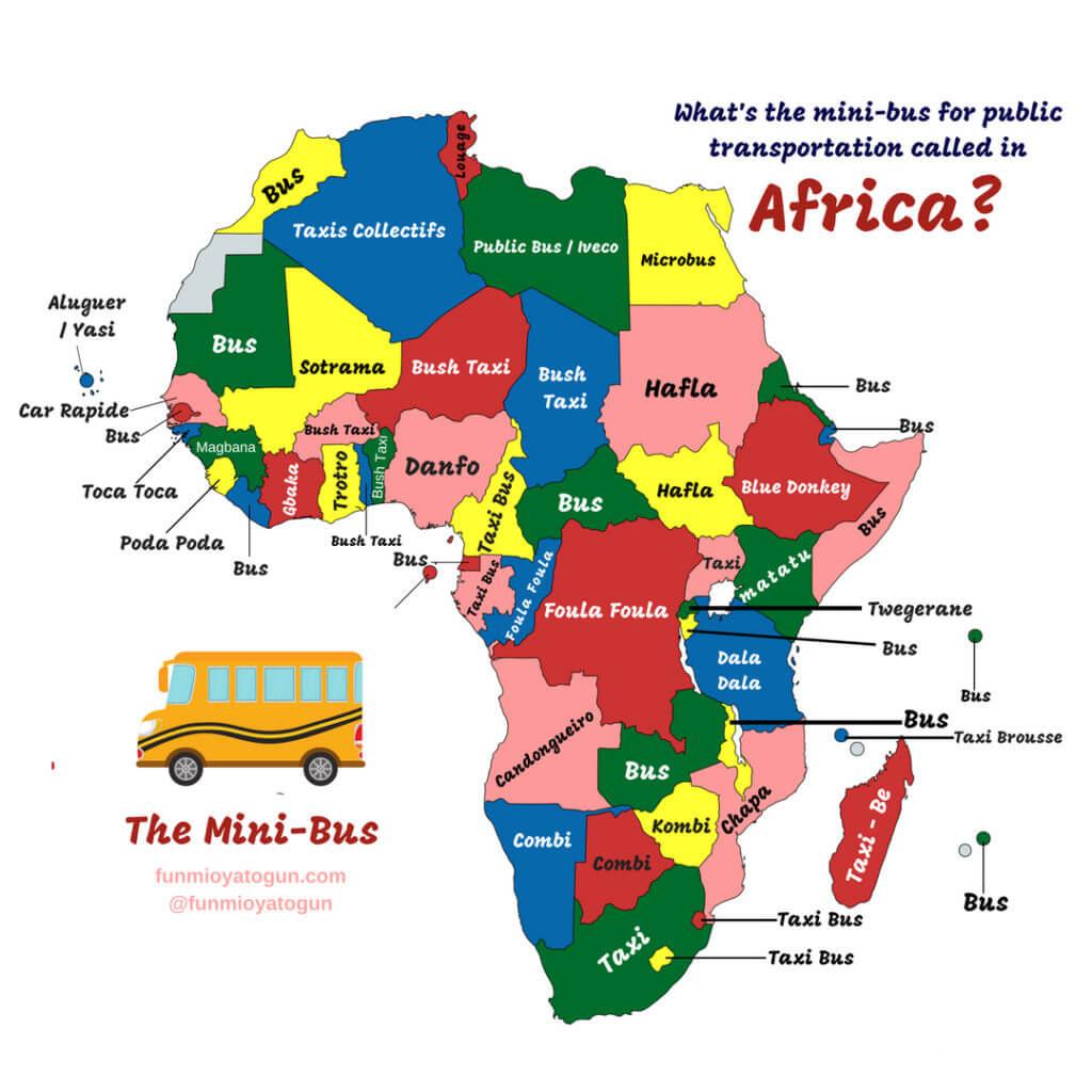 Fun Maps of Africa   FUNMI OYATOGUN